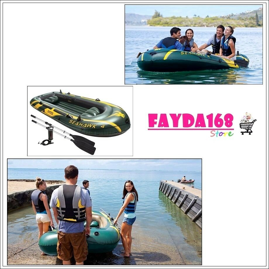 4 person fishing boat set inflatable raft dinghy float for 4 person fishing boat