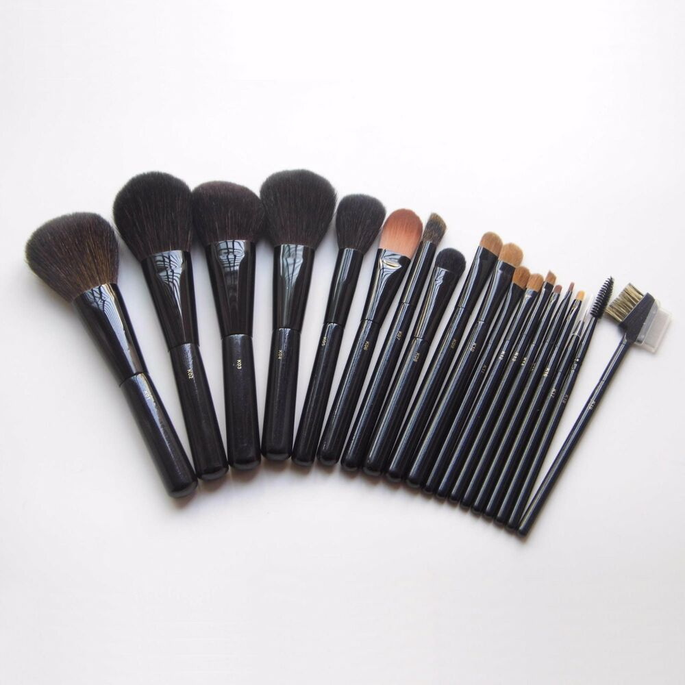 High Quality Soft Squirrel Goat Hair Makeup Brushes