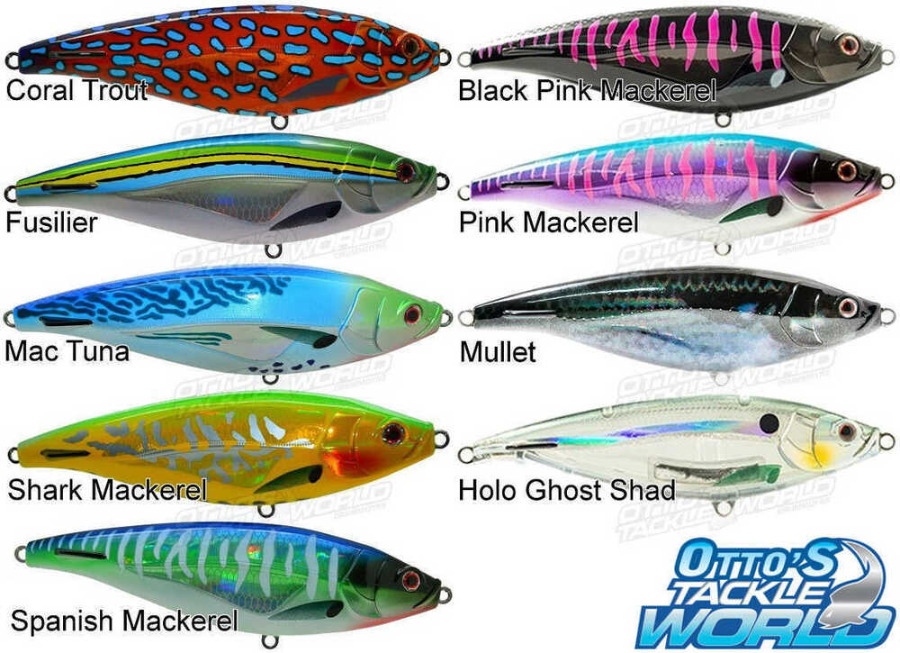 Nomad madscad stick baits 190mm 140g lures rigged brand for Fish stick brands