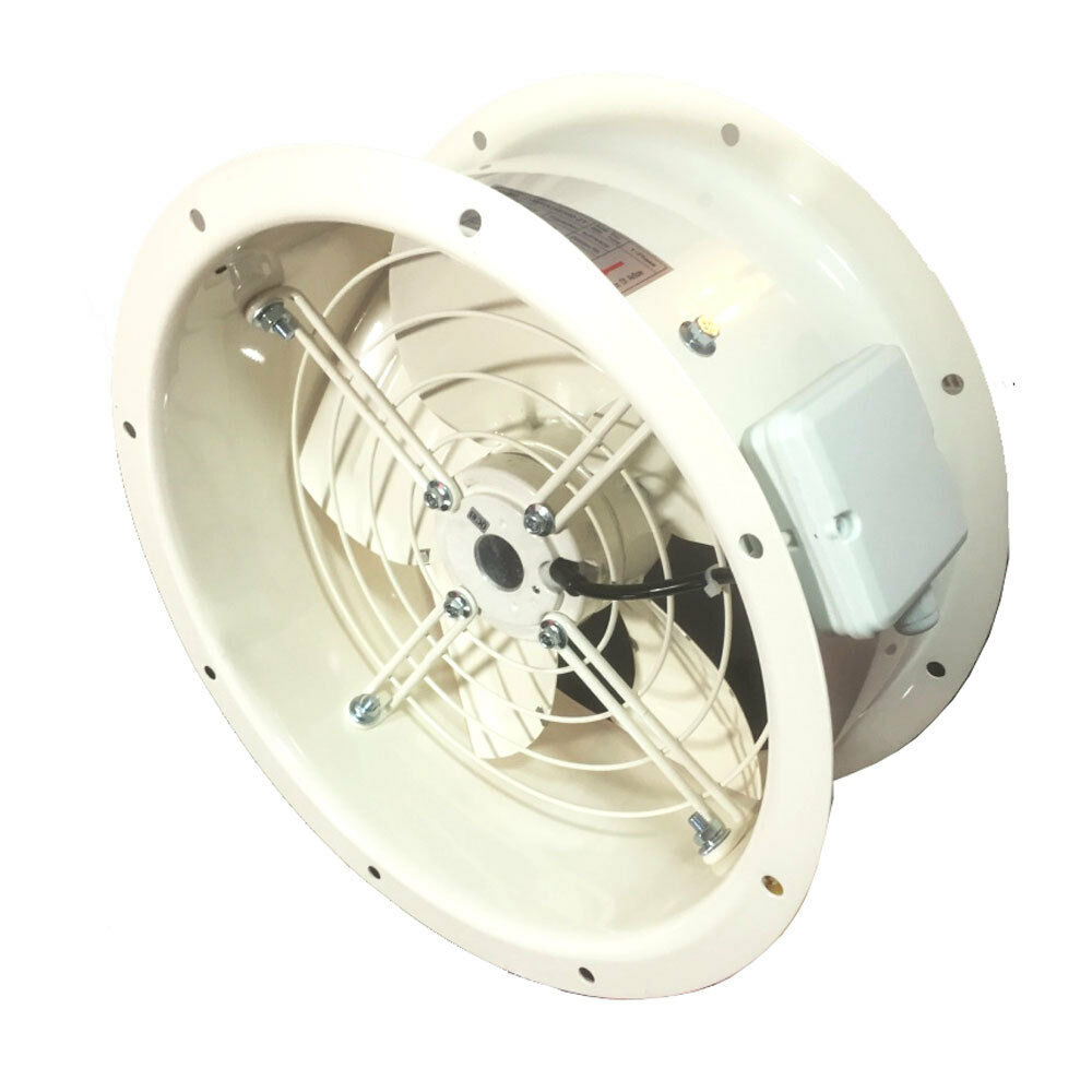 Industrial Duct Fan Cased Axial Commercial Canopy