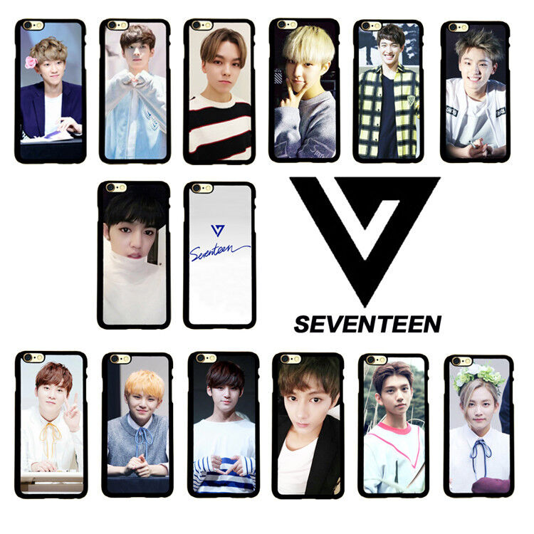 kpop iphone cases kpop seventeen cellphone iphone 6s plus woozi mobile 9060