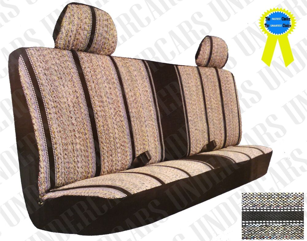Woven Western Saddle Blanket Bench Seat Cover Pick Up