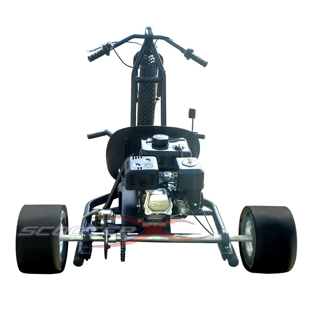 NEW Fast Powerful Adult Big Wheel ATC Go Kart Automatic 6.5 Engine ...