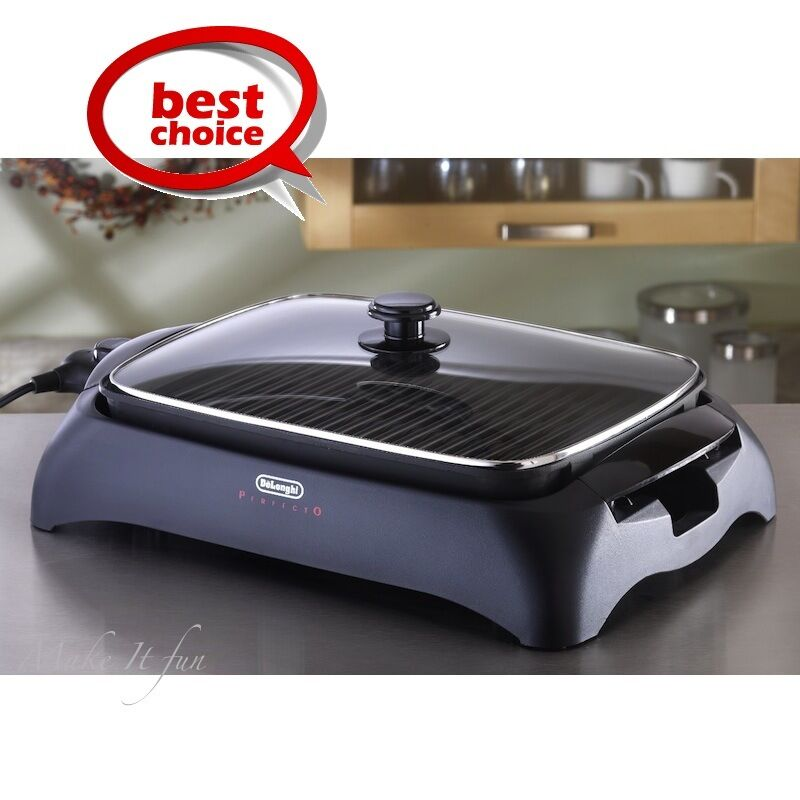 Indoor Tabletop Electric Grill ~ Indoor bbq grill smokeless w lid portable home electric