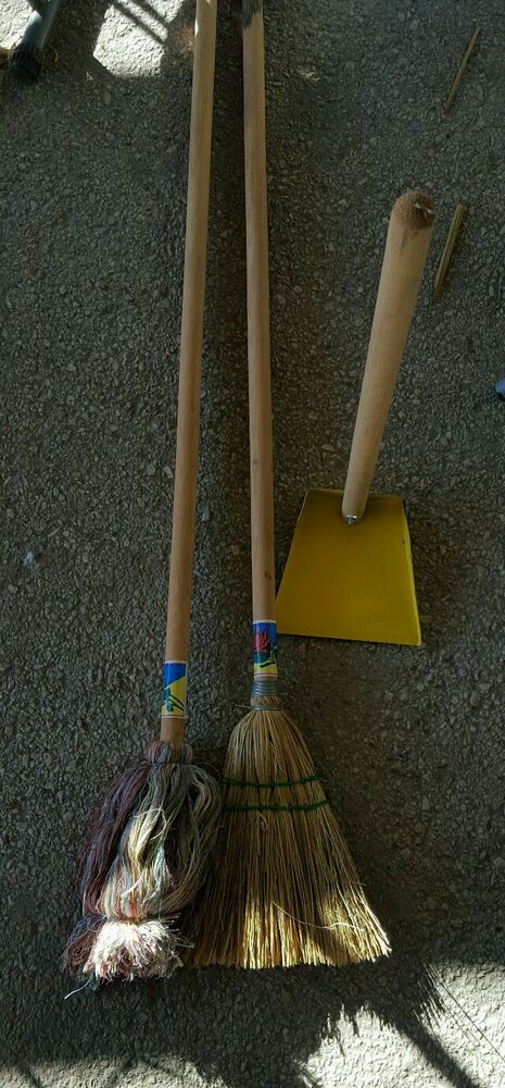Set Of Broom Mop And Dustpan For Children Ebay