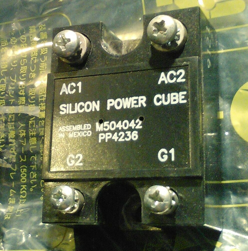 M504042 Pp4236 Silicon Powercube M505042 40 Amp 120 240vac Scr Solid State Relay Vs Ebay