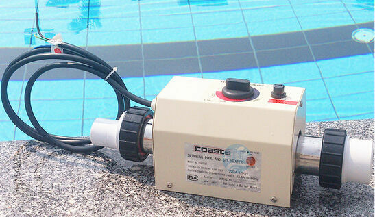 Swimming Pool And Spa Heater Electric Heating Thermostat 3kw 220v Ebay