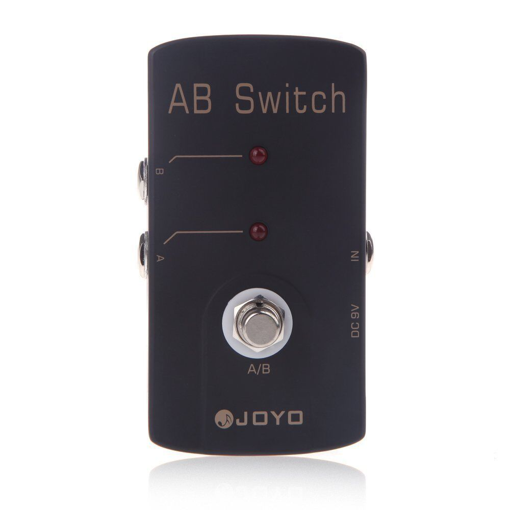 joyo jf 30 ab switch true bypass 9v pedal for guitar effects stompbox fx ebay. Black Bedroom Furniture Sets. Home Design Ideas
