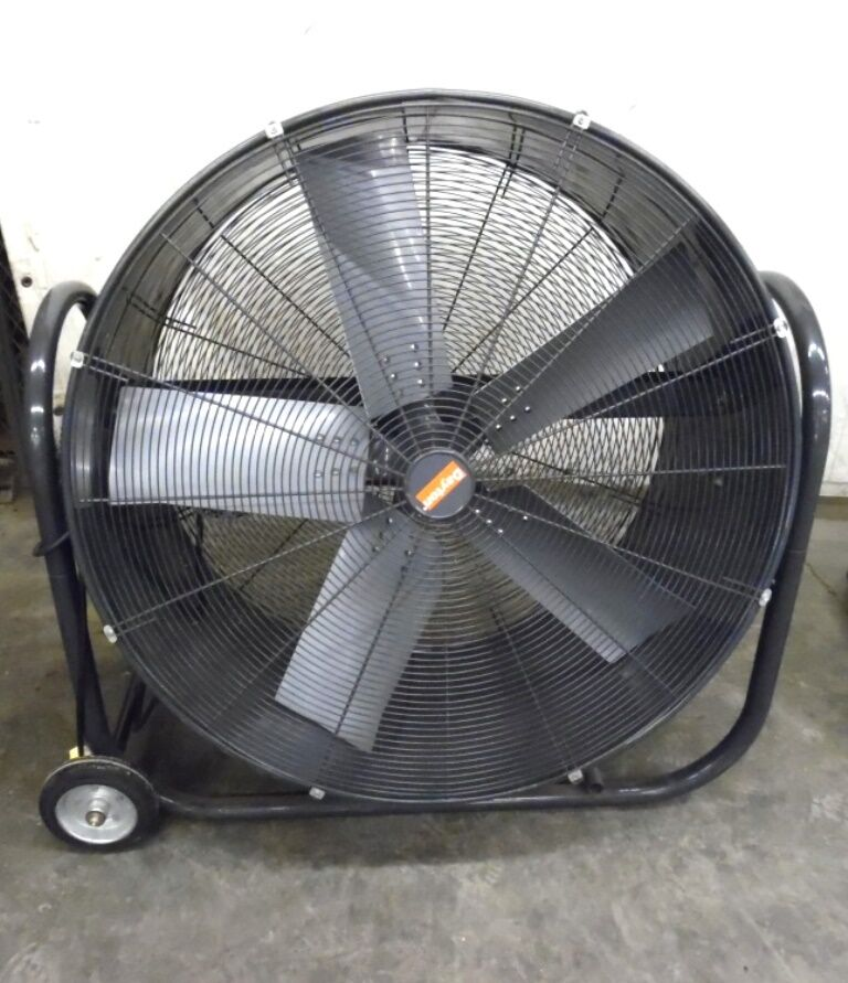 Dayton Industrial Fans And Blowers : Dayton industrial mobile non oscillating air circulator