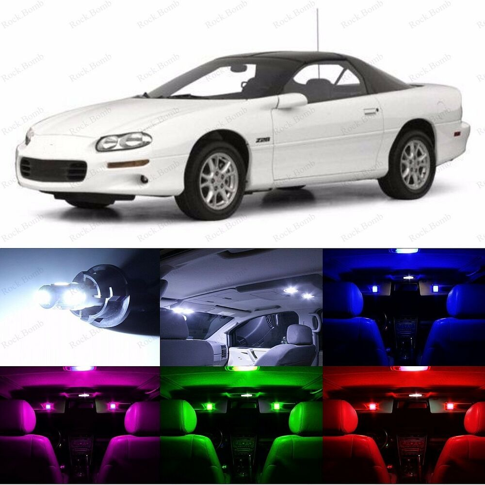 11 X Led Interior Lights Replacement Package1993 2002 Chevrolet Chevy Camaro Ebay