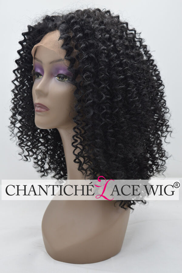 Afro Kinky Curly Wigs Synthetic Hair Heat Safe Lace Front ...