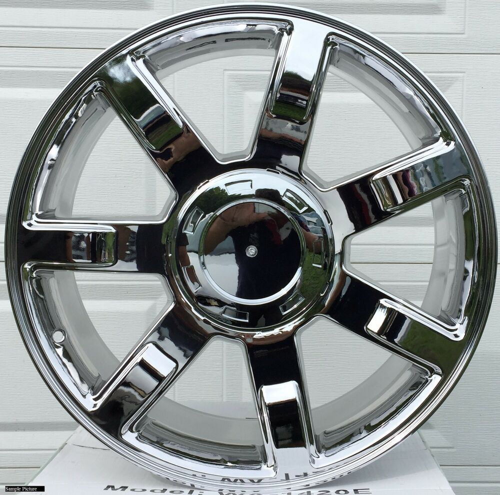 1 New 22 Quot Wheel For Cadillac Escalade Esv Ext 2007 2008