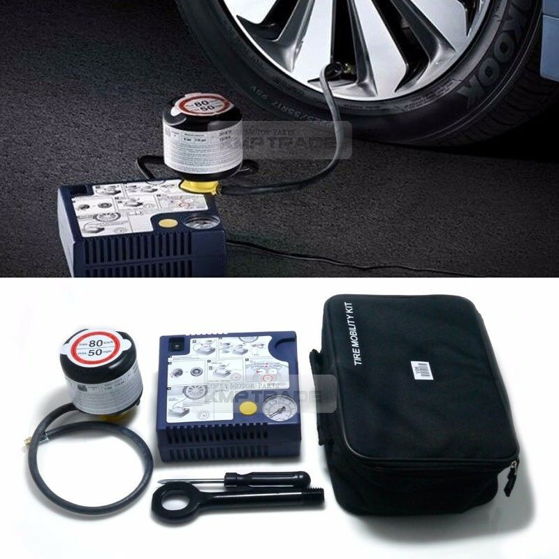 genuine parts tire mobility kit inflator air compressor. Black Bedroom Furniture Sets. Home Design Ideas