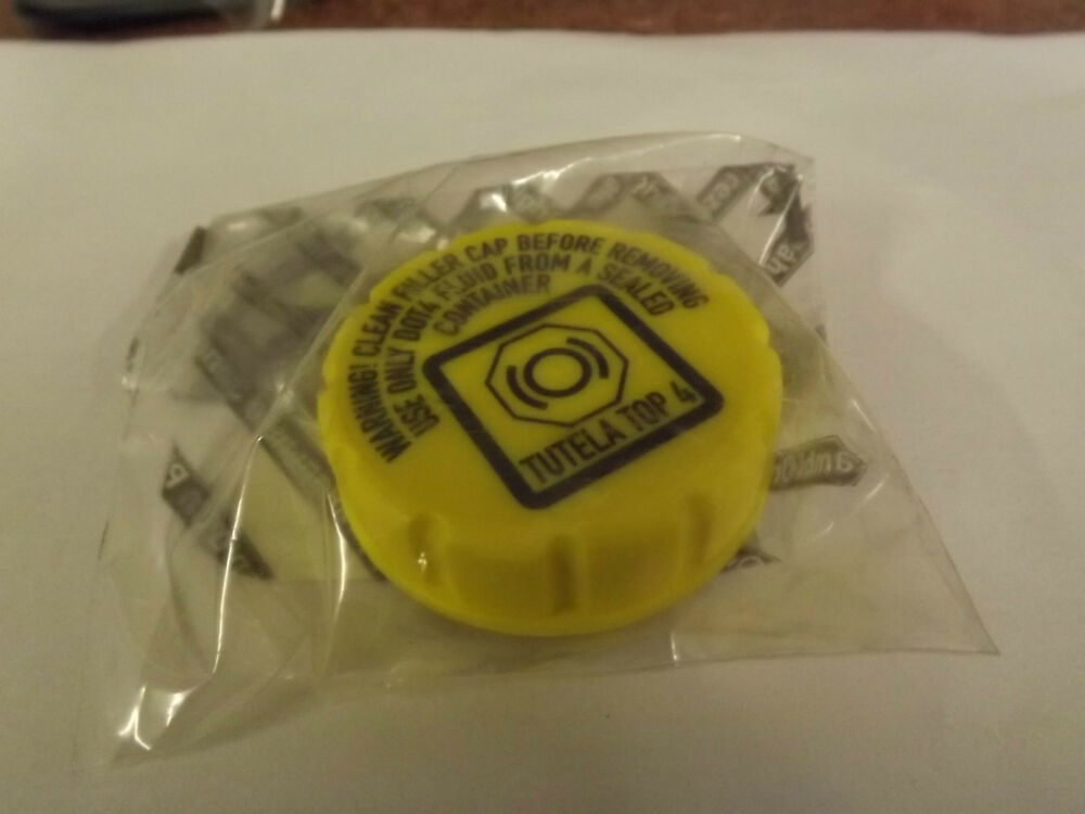 Fiat 500 Genuine Oe Brake Fluid Reservoir Cap 9948849 Ebay