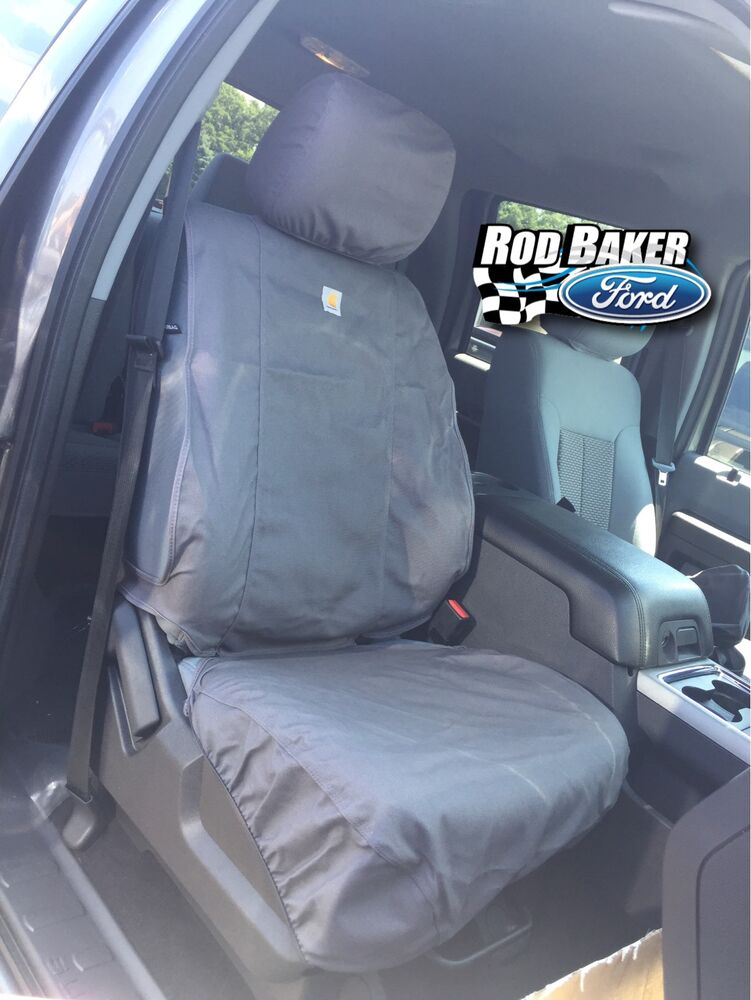 2011 2016 Ford Super Duty Carhartt Seat Covers Gravel