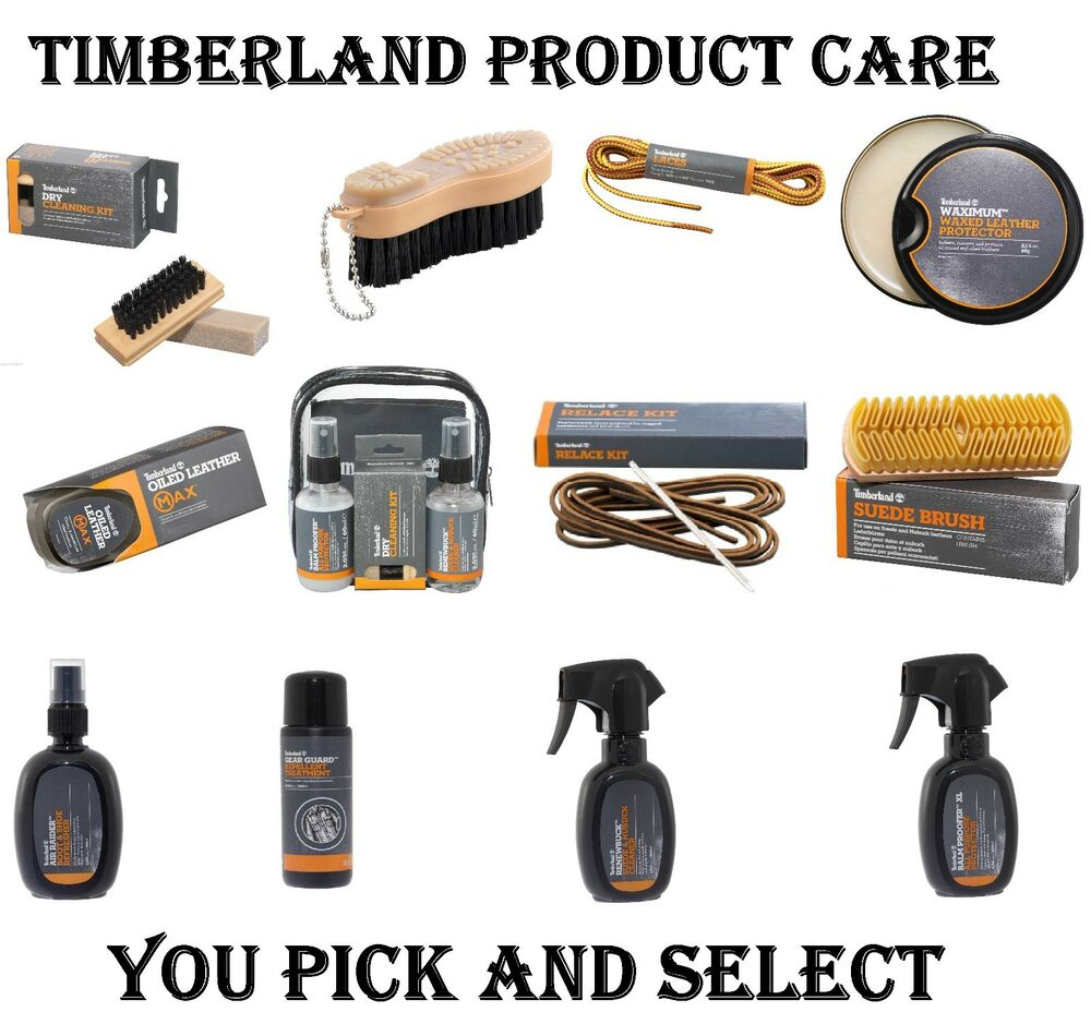 Timberland Product Care Cleaner Conditioner Oil Wax Dry