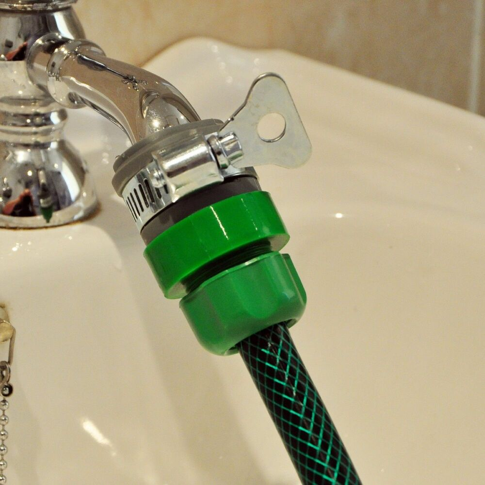 Kitchen Tap Fittings: Tap Connector Adapter Mixer Kitchen Garden Hose Pipe