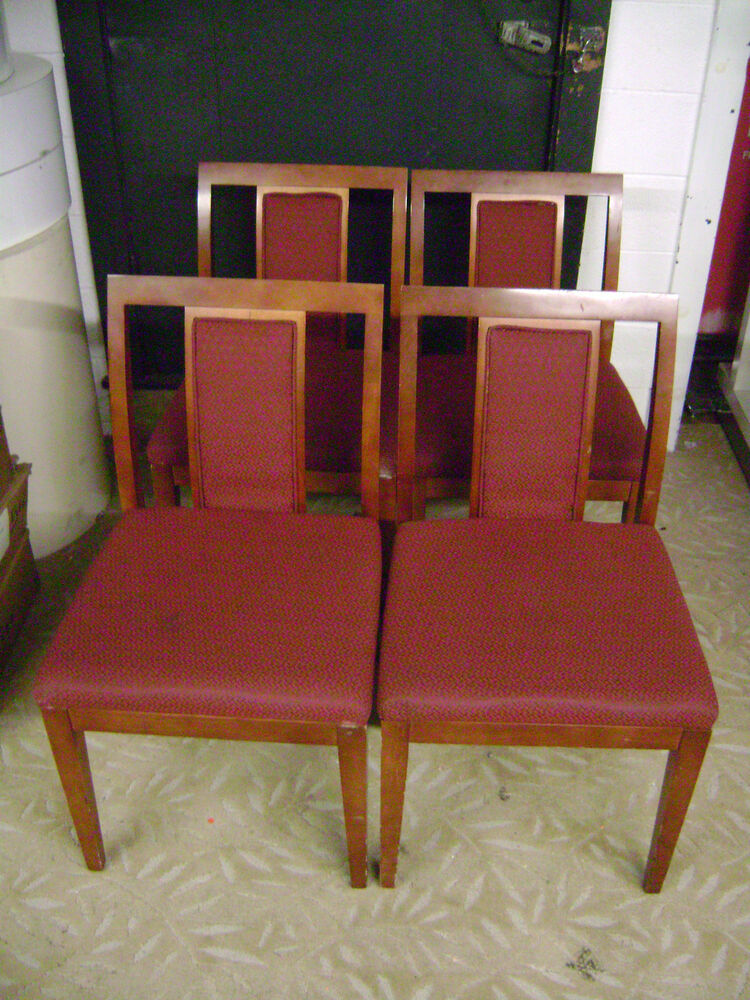 Wood Arm Chairs For Office ~ Paoli wood frame burgundy office accent chair set ebay