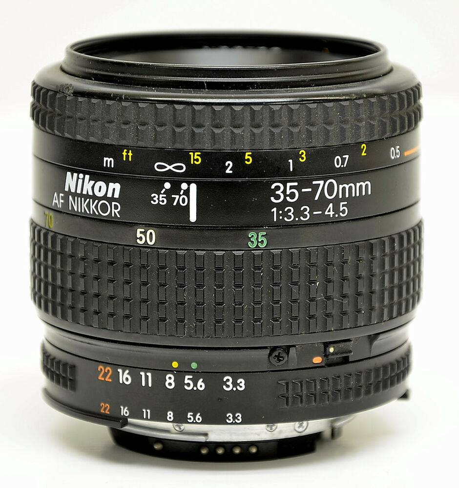 nikon af nikkor 35 70mm f3 3 4 5 lens ebay. Black Bedroom Furniture Sets. Home Design Ideas