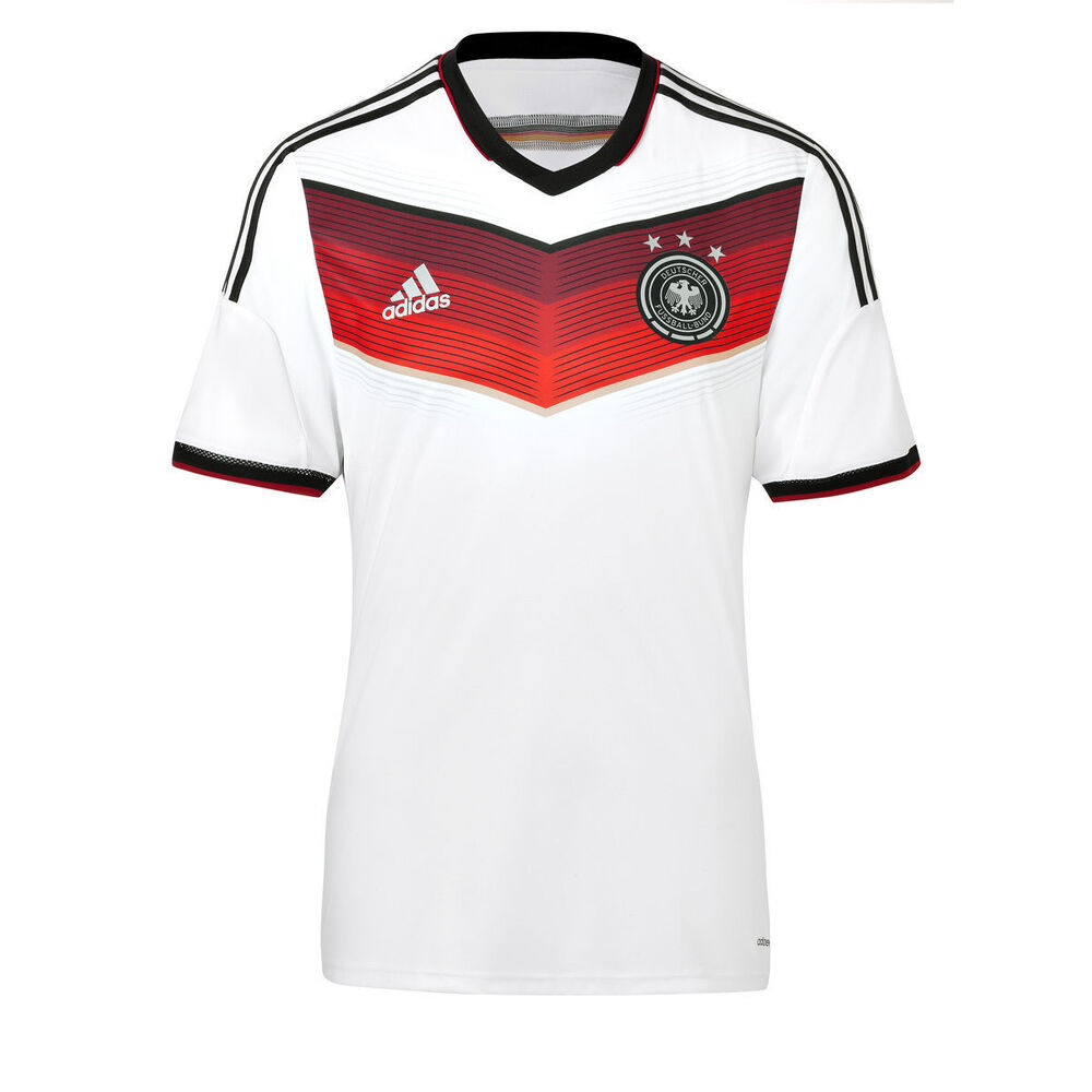 6f51d03d5b7 Details about ADIDAS GERMANY AUTHENTIC ADIZERO HOME JERSEY FIFA WORLD CUP  BRAZIL 2014