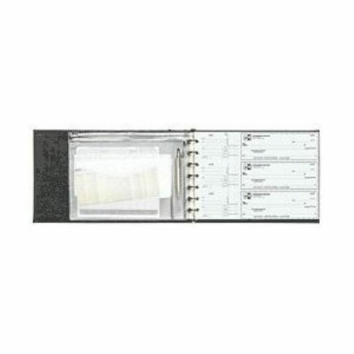 7 Ring 3 On A Page Business Check Book Binder Ebay
