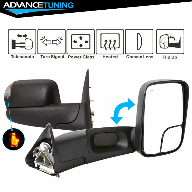 02   08    Ram    1500 0309    Ram       2500    3500    Towing    Mirrors Power