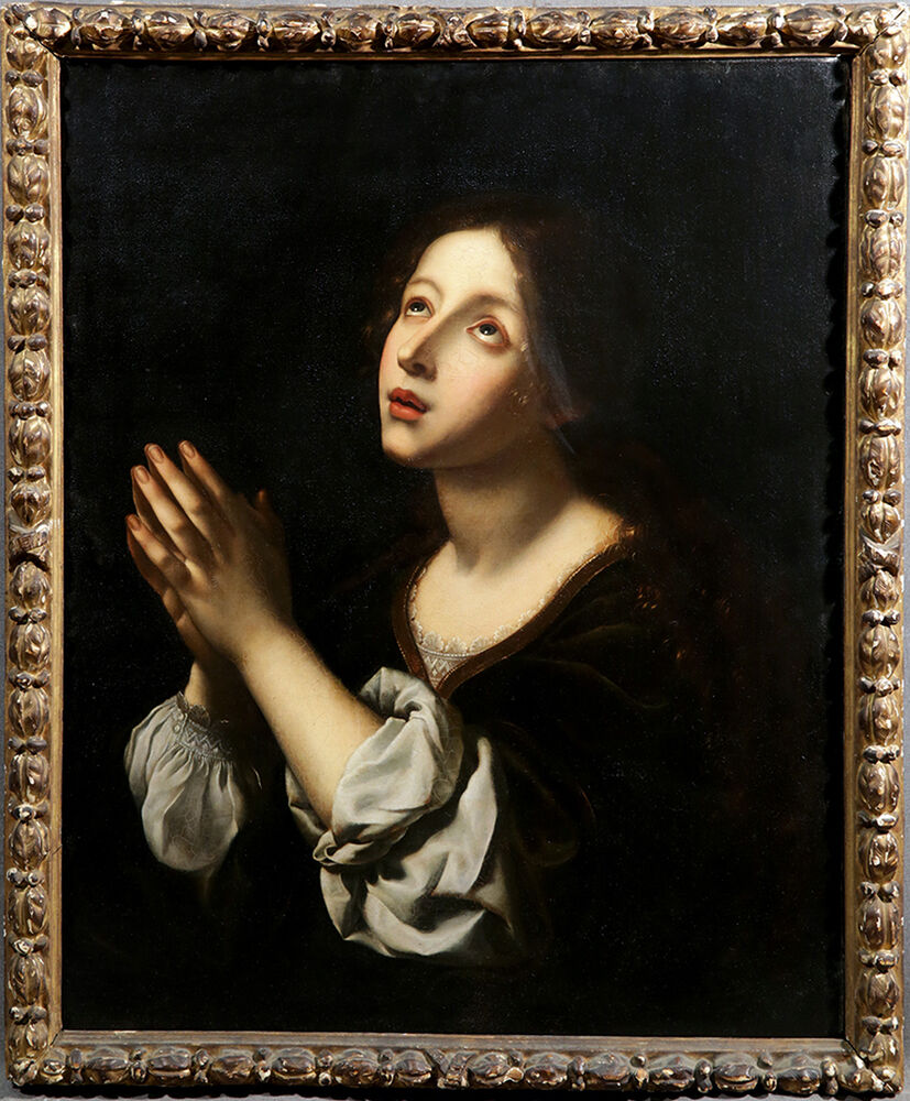 18th century follower of carlo dolci italian religious oil for Carlo docci