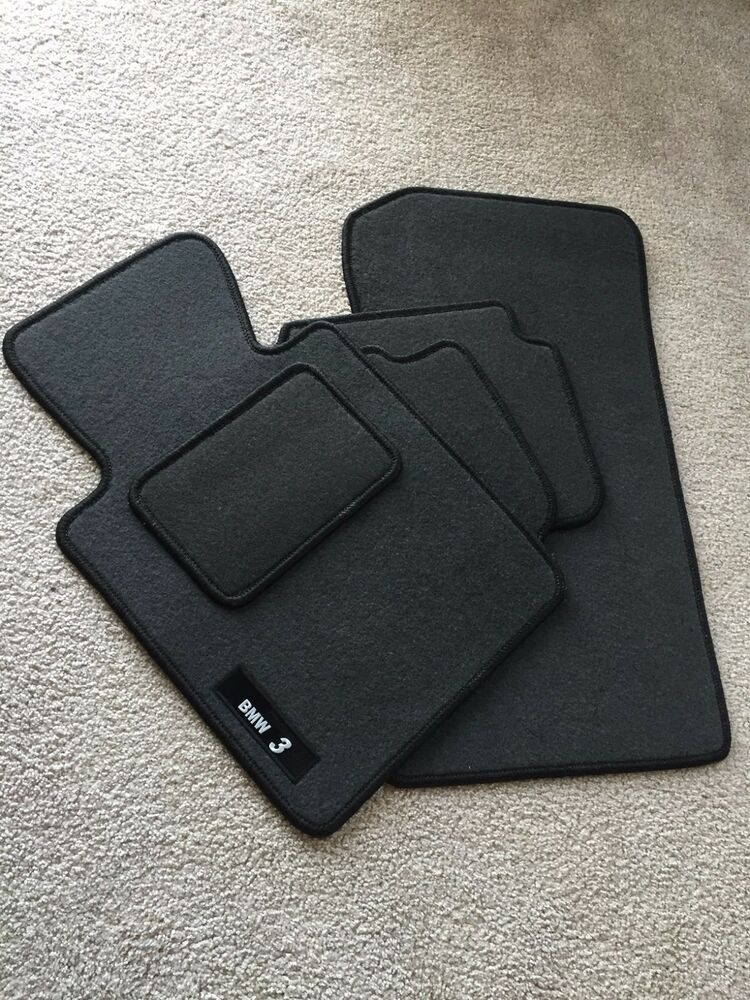 Bmw Car Mats Ebay >> BMW E46 CARPET FLOOR MATS SET GRAY | eBay