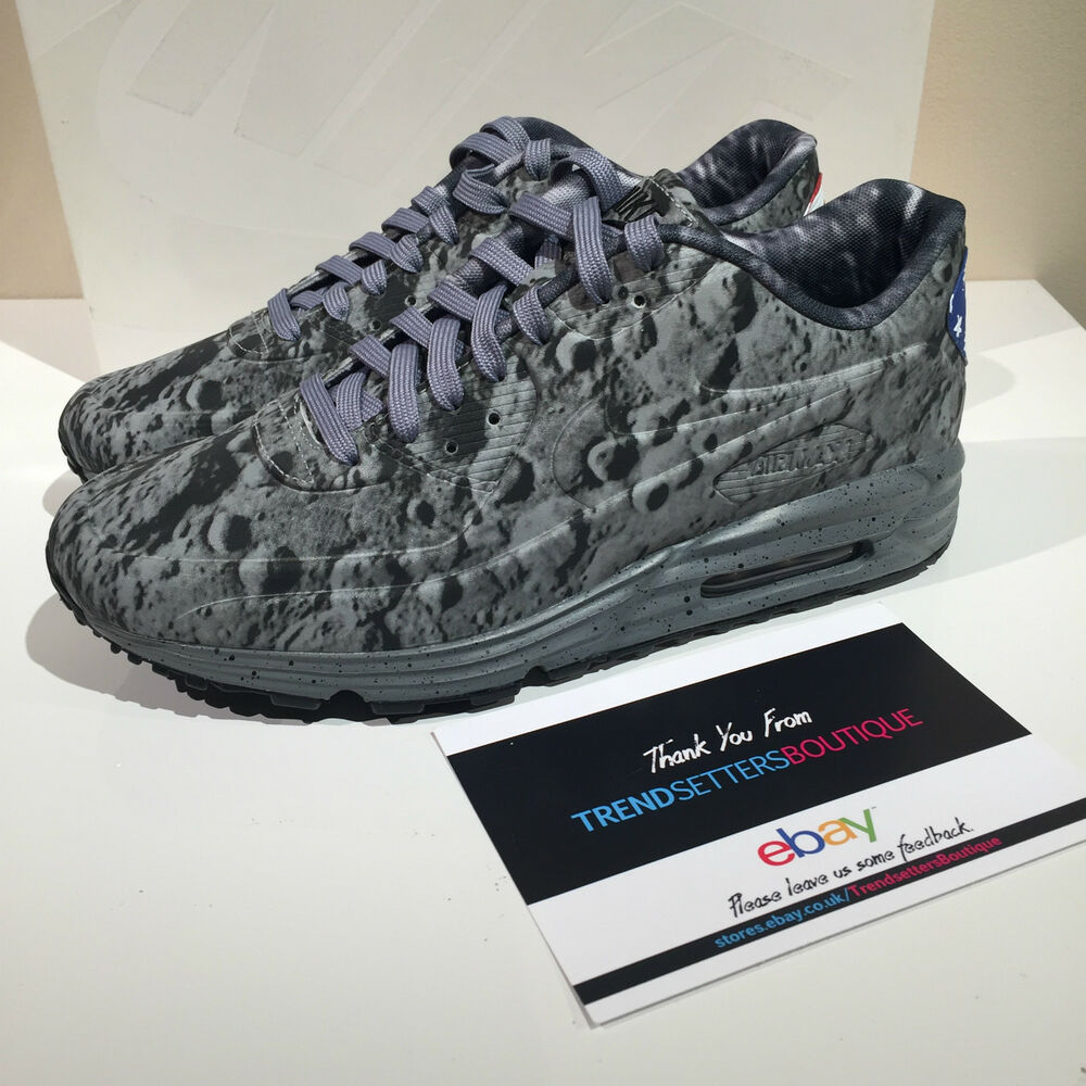 100% authentic 9d2ef 6eeeb Details about NIKE AIR MAX LUNAR 90 SP APOLLO MOON LANDING US UK 7 7.5 8 9  10 11 11.5 ATMOS