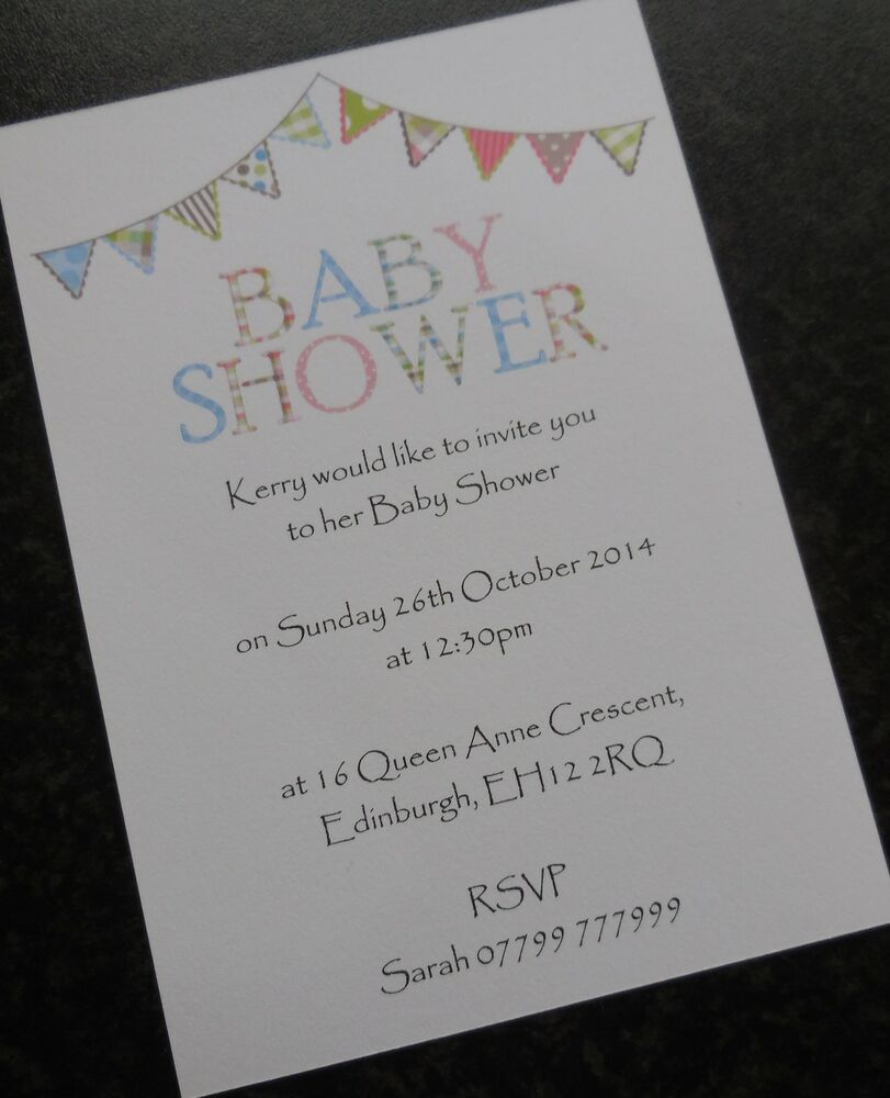 personalised baby shower invitations  u0026 thank you cards