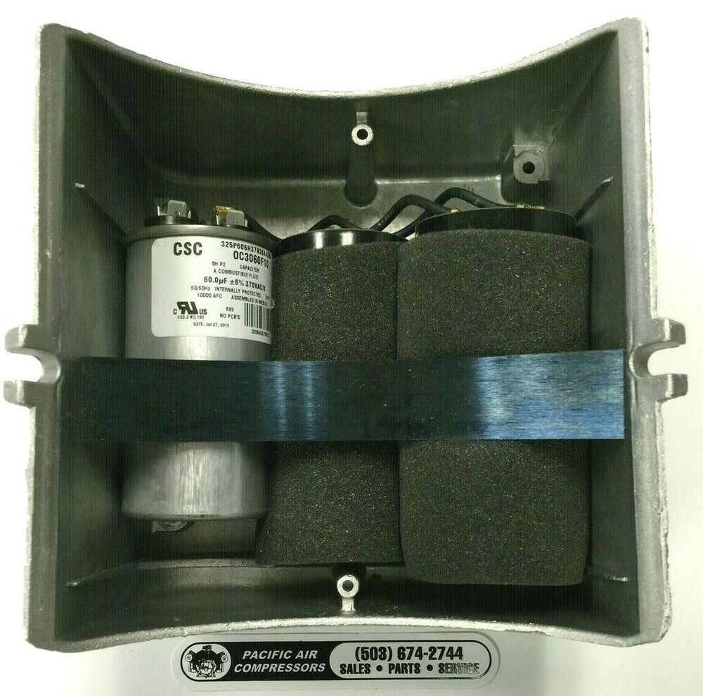 Baldor Capacitor Box Compressor Parts 36cb5005a01