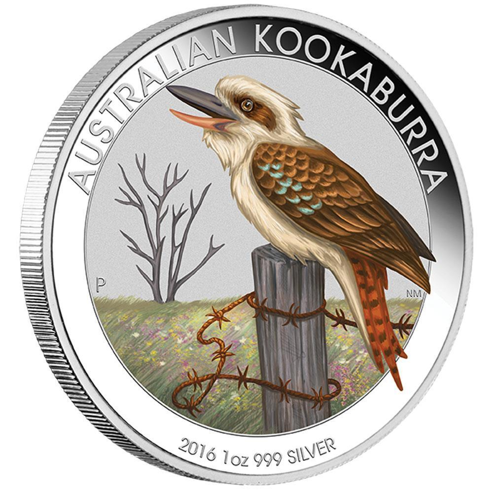Australian 2016 Kookaburra Berlin World Money Fair Coin
