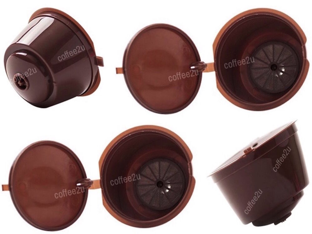 1 x refillable reusable compatible coffee capsules pods for dolce gusto machi - Distributeur capsules dolce gusto ...