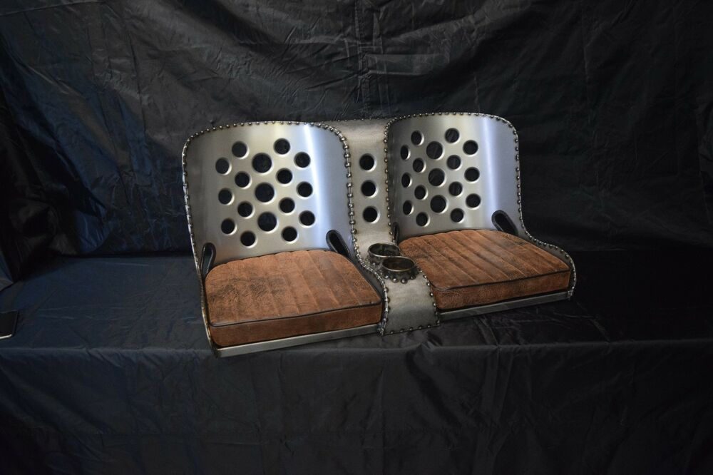 Bomber Seat Rat Rod Hot Rod Quot Bench Quot Seat 40 Quot With Brown