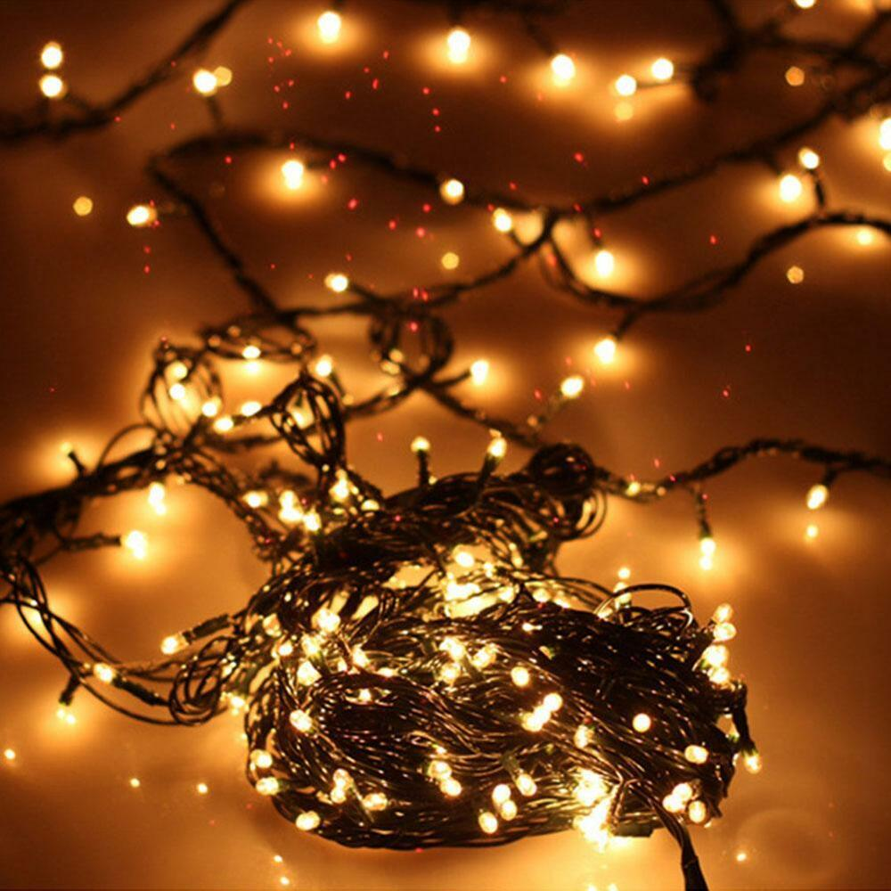 Small LED Light Bubble Christmas Decor String Lamp Holiday