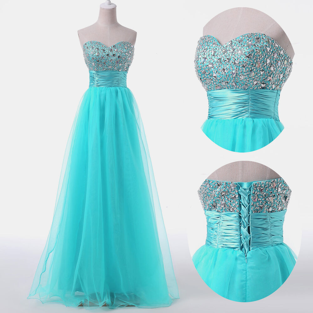 2016 Plus Size Long Formal Evening Prom Wedding Party Ball Gown Bridesmaid Dress