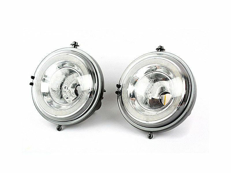 *LED DRL Daytime Running Light Halo Fog Lamp Kit For Mini
