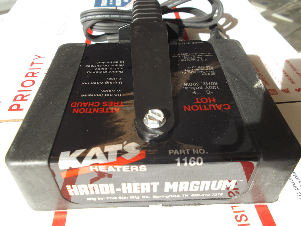 Magnetic heater engine block oil pan warmer cold start for What motor oil is best for cold weather
