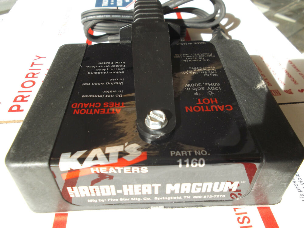Magnetic Heater Engine Block Oil Pan Warmer Cold Start