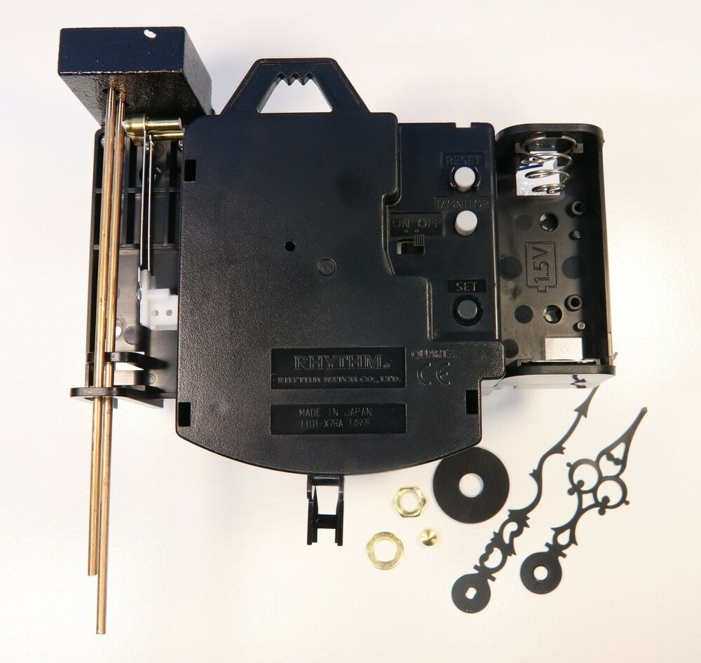 Quartz Bim Bam Strike Pendulum Clock Movement Kit With