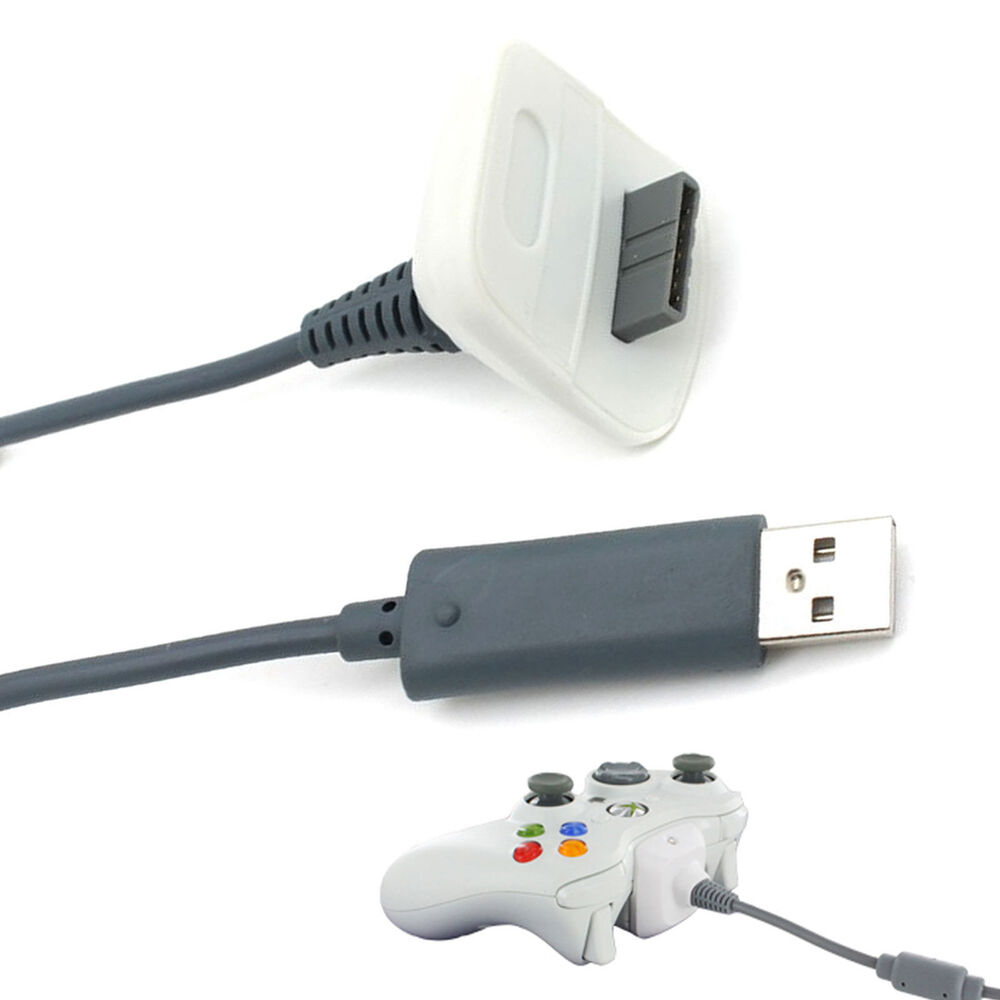 USB Play Charging Charger Cable Cord for XBOX 360 Wireless ...Xbox 360 Controller Charger