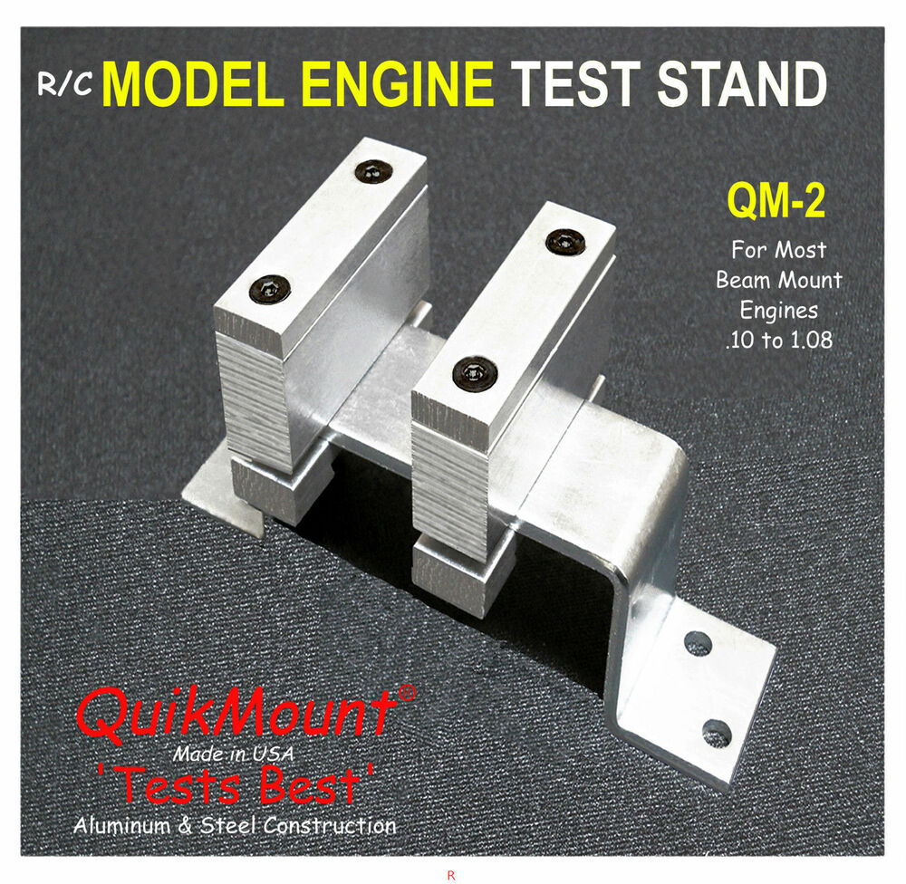Model Airplane Rc Eng Test Stand Quikmount Qm2 For Most