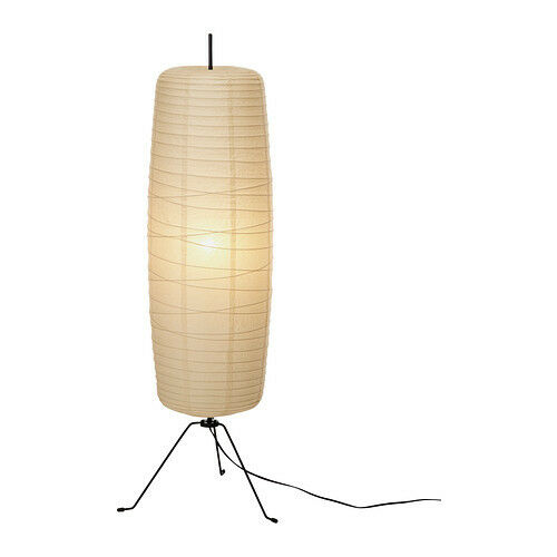 ikea sore floor lamp height 100 cm rice paper shade light tall ebay. Black Bedroom Furniture Sets. Home Design Ideas