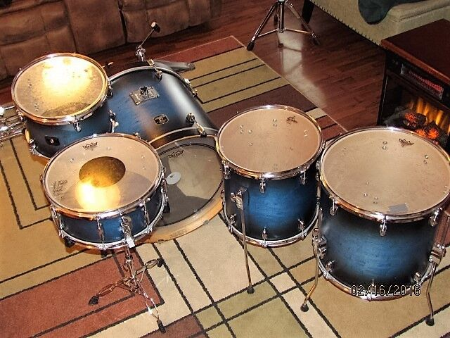 Gretsch catalina maple shell pack with free 14 inch floor for 14 inch floor tom
