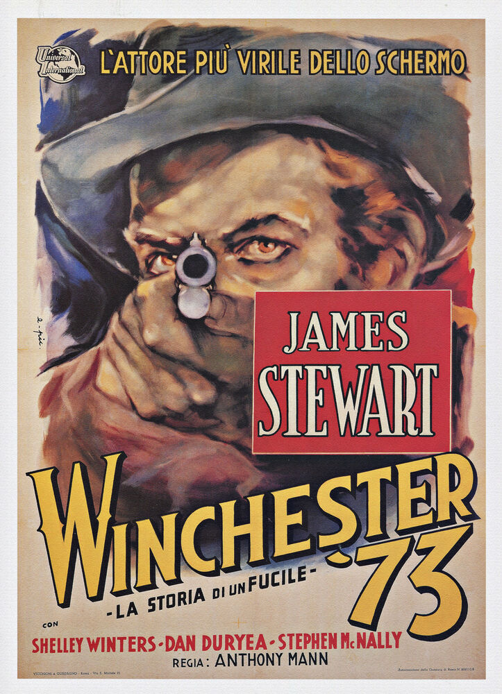 "Classic Western, 20""x14' Movie Poster, Winchester '73 ..."