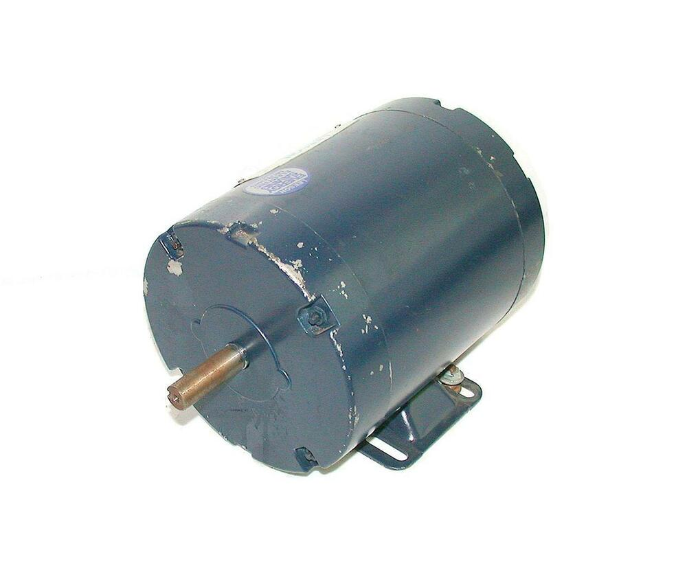 Leeson 3 phase ac motor 1 2 hp 208 230 460 vac model for 1 2 hp ac motor