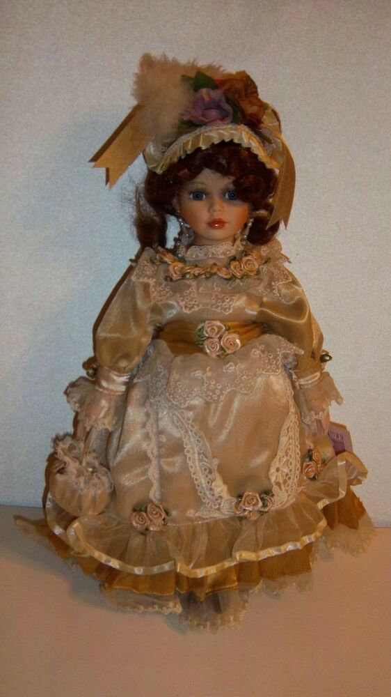 Collectible Memories Porcelain Doll Elizabeth | eBay