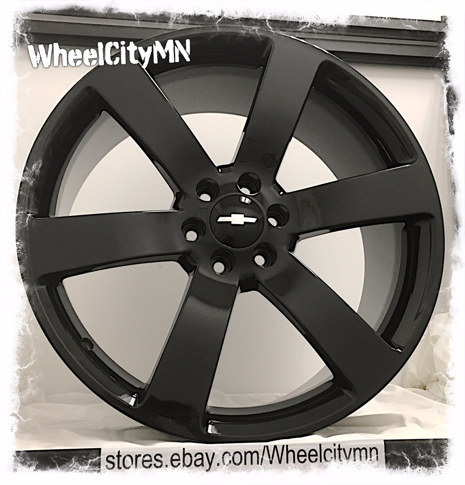 20 inch gloss black Chevrolet Trailblazer SS OE factory ...