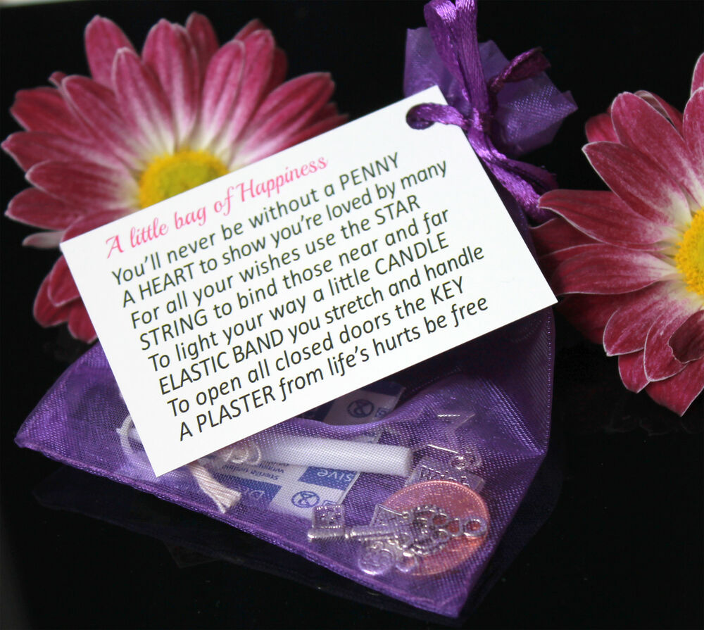 wedding favour gift a little bag of happiness ebay