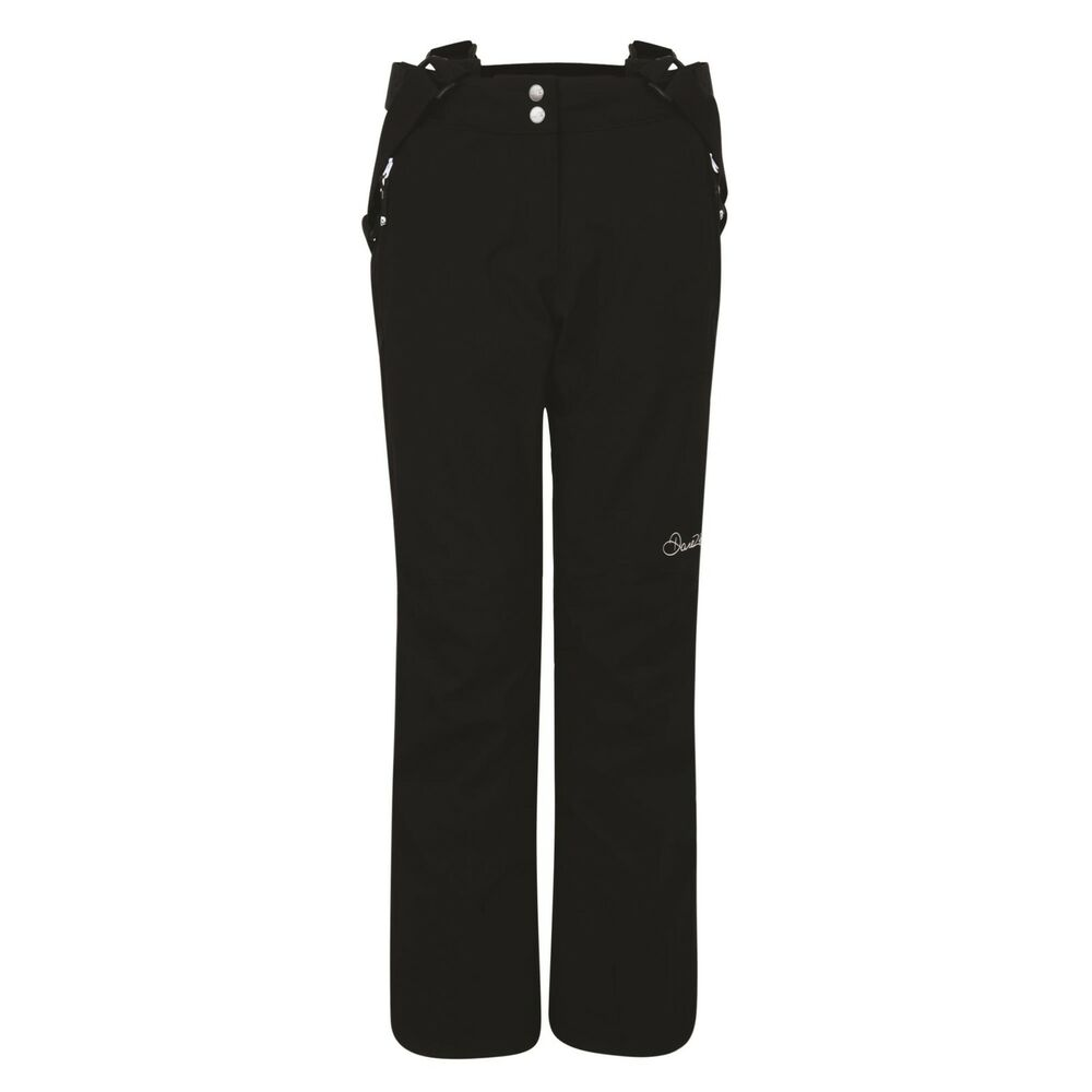 Details about Womens DARE2B STAND II FOR BLACK Stretch Ski Pants Sizes 8 -  20 SHORT LEG c2778e0429